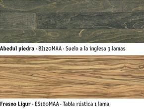 Suelos de madera en diferentes acabados para parquets y tarimas
